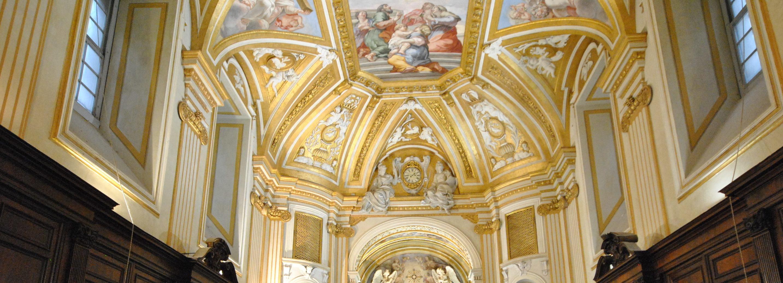 Concert Season In The Borromini Sacristy